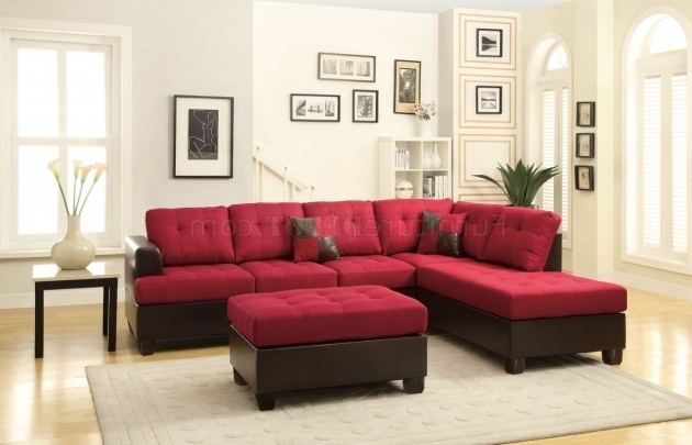 Fabric Microfiber Sectional Sofa With Chaise Microsuede Picture 73