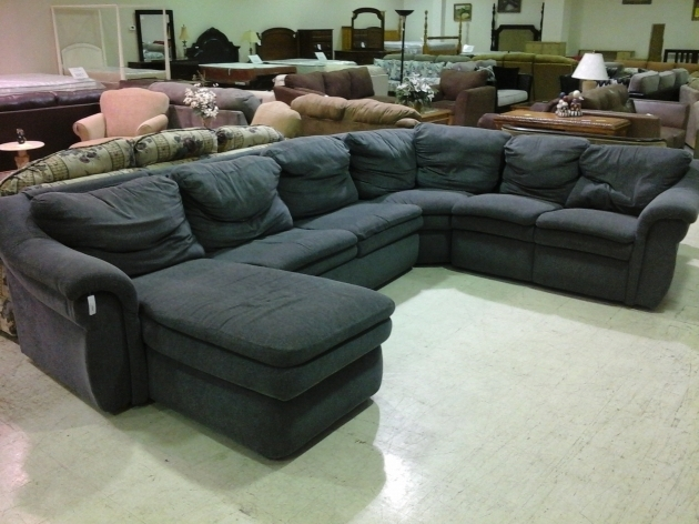 Fabric Sectional Sofas With Chaise U Shape And Pillow Photo 41