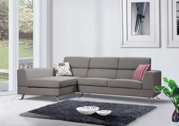 Grey Fabric Sectional Sofas With Chaise Image 21