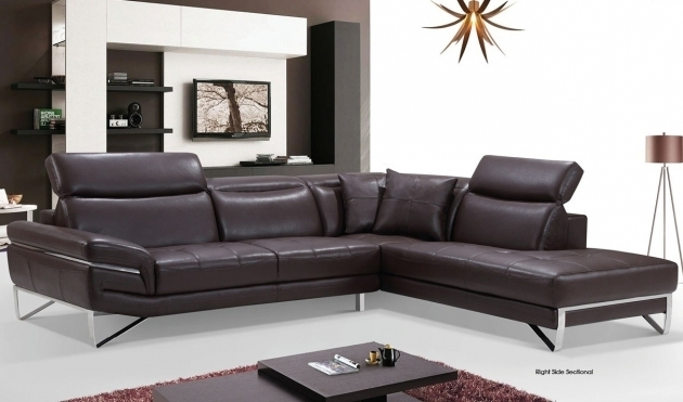 Leather Couch With Chaise Sectional Sofa Photo 07
