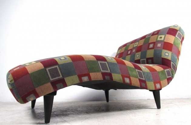 Mid Century Modern Chaise Lounge Style Interior Home Photos 03
