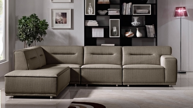 Modern Fabric Upholstered 4 Piece Sectional Sofa With Chaise Ravello Image 57