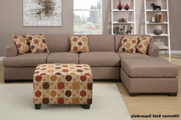 Montreal Iii Stone Fabric Sectional Sofas With Chaise Image 02