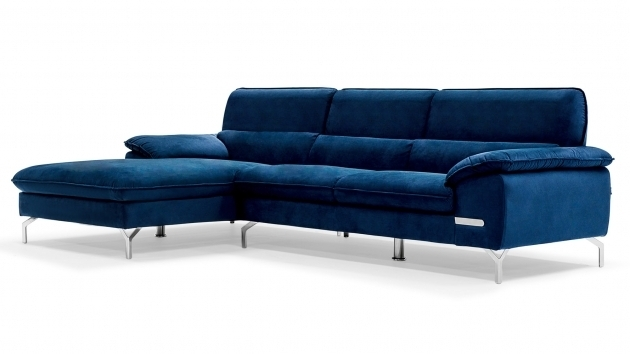 Sapphire Blue Sectional Sofa With Chaise Furniture Photo 25