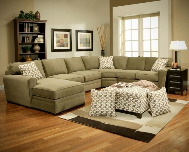 Townsend Upholstered 4 Piece Sectional Sofa With Chaise Photos 06