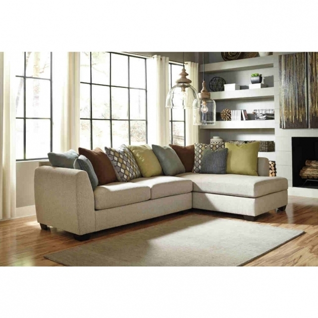 Ashley Furniture Chaise Sofa Cream Image 24