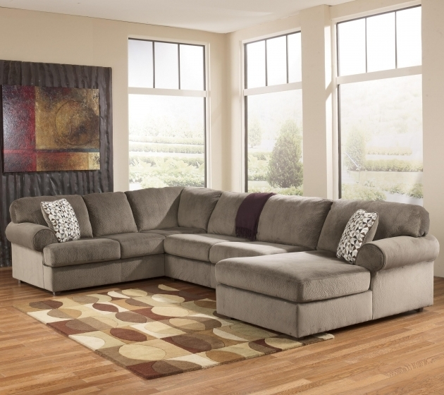 Signature Design Ashley Furniture Chaise Sofa Jessa Place Dune Casual Photo 35