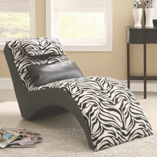 Zebra Chaise Lounge Print Chair Ideas Photo 70