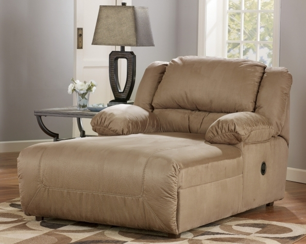 Contemporary Indoor Oversized Chaise Lounge Round Chair