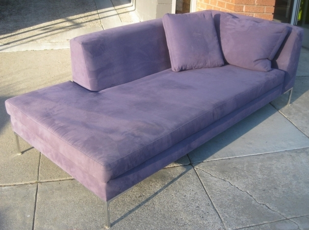 Furniture Ideas Purple Indoor Oversized Chaise Lounge For Living Room Image 06