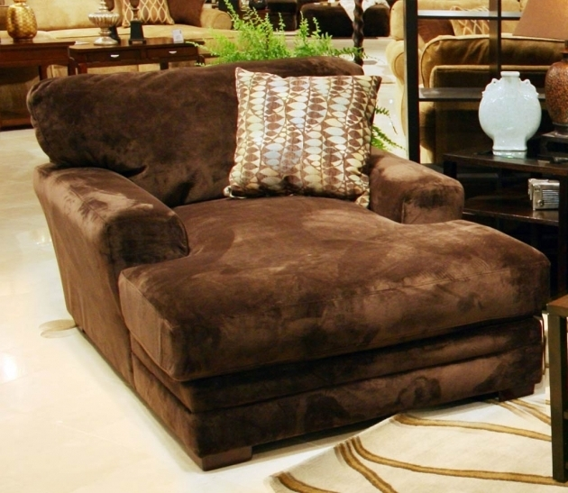 Indoor Oversized Chaise Lounge Decor Cozy Ideas Picture 00