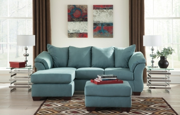 Ashley Furniture Sofa Chaise Signature Design Ashley Darcy Sky Contemporary Sofa Chaise Image 97