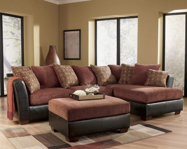 Elegant Ashley Furniture Sofa Chaise Brown Photos 29